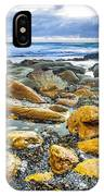 Misty Cliffs II IPhone Case