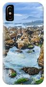 Misty Cliffs Iv IPhone Case