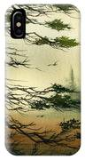 Misty Tideland Forest IPhone Case