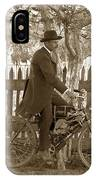 Mitchell Motorcycle Circa 1907 IPhone Case