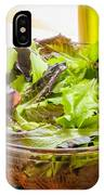 Mixed Salad With Condiments IPhone Case