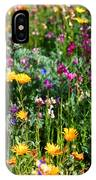 Mixed Wildflowers IPhone Case