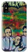 Mlk Fatherhood 1  IPhone Case