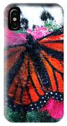 Mnarch Butterfly IPhone Case