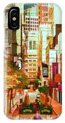 Mocca On Maiden Lane IPhone Case