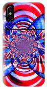 Mod 163 - Freedom Abstract IPhone Case