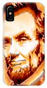 Modern Abraham Lincoln IPhone Case