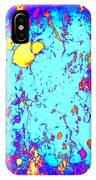 Modern Abstract Painting Original Canvas Art Wild By Zee Clark IPhone Case