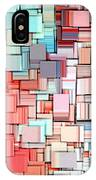Modern Abstract X IPhone Case