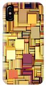 Modern Abstract Xxi IPhone Case