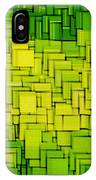 Modern Abstract Xxxiii IPhone Case