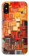 Modern Abstract Xxxiv IPhone Case