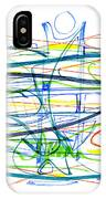 Modern Drawing Eighty-seven IPhone Case