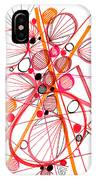 Modern Drawing Fifty-four IPhone Case