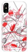 Modern Drawing Ninety-five IPhone Case