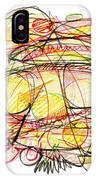 Modern Drawing Seventy-eight IPhone Case