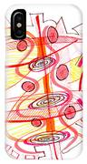 Modern Drawing Seventy-four IPhone Case