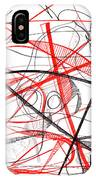 Modern Drawing Seventy-two IPhone Case
