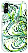 Modern Drawing Sixty IPhone Case