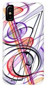 Modern Drawing Sixty-two IPhone Case