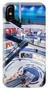 Modern Shopping Mall Interior IPhone Case