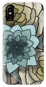 Modern Water Lily IPhone Case