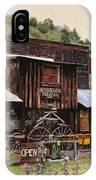 Mogollon-theatre-new Mexico  IPhone X Case