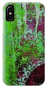 Molten Earth Lime IPhone Case