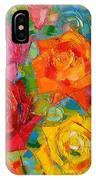 Mon Amour La Rose IPhone Case