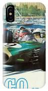 Monaco F1 Grand Prix 1968 IPhone Case