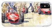 Monaco Gp 1961 Ferrari 156 Sharknose  IPhone Case