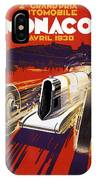 Monaco Grand Prix 1930 IPhone Case