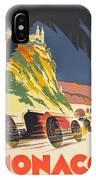 Monaco Grand Prix 1932 IPhone Case