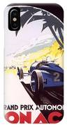 Monaco Grand Prix 1933 IPhone Case
