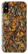 Monarch Butterflies Wintering IPhone Case