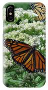 Monarch Butterfly 54 IPhone Case