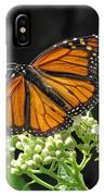 Monarch Butterfly 60 IPhone Case