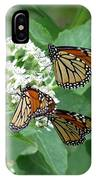 Monarch Butterfly 65 IPhone Case