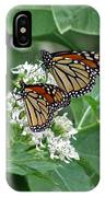 Monarch Butterfly 70 IPhone Case