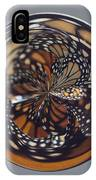 Monarch Butterfly Abstract IPhone Case