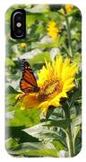 Monarch Butterfly And Guest IPhone Case