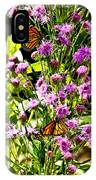 Monarch Butterfly Couple IPhone Case