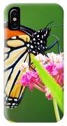 Monarch Butterfly Simple Pleasure IPhone Case