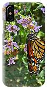 Monarch Butterfly Trio IPhone Case