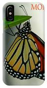 Monarch Mania IPhone Case