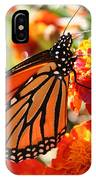 Monarch On Marigold IPhone Case
