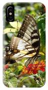 Monarch Pause IPhone Case
