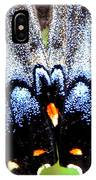 Monarchs Blue Glow IPhone Case