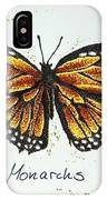 Monarchs - Butterfly IPhone Case