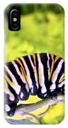 Monarch's Caterpillar.nz IPhone Case